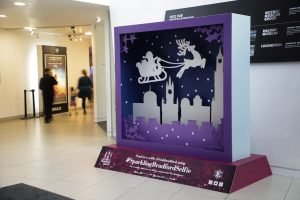 christmas themed sculpture trail