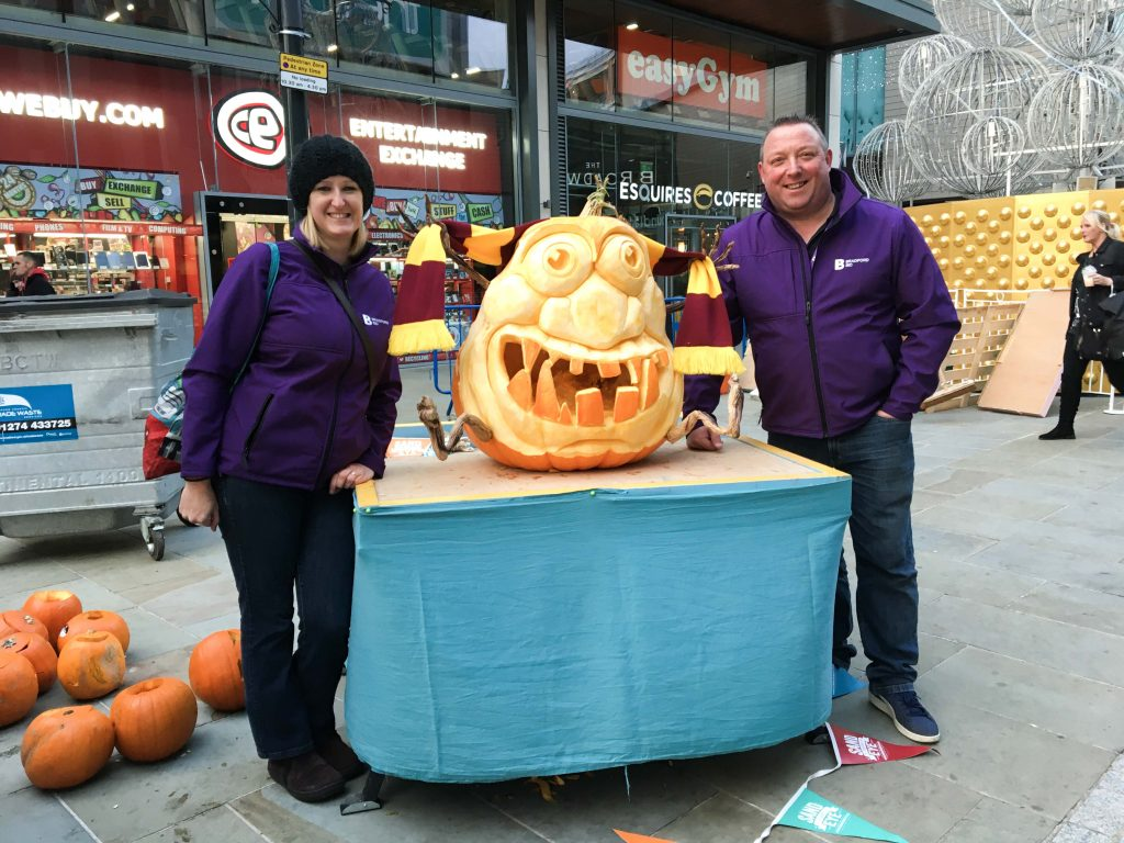 halloween pumpkin carving uk bradford bid