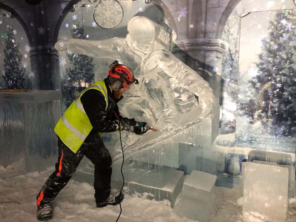 ice carving nottingham