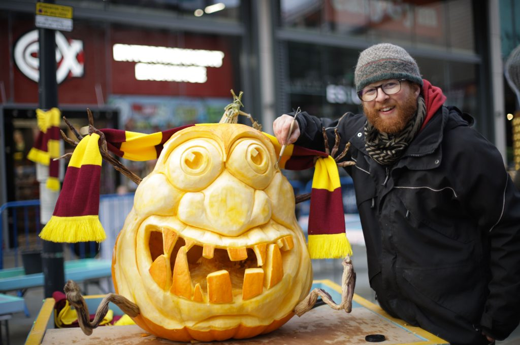 professional pumpkin carving yorkshire