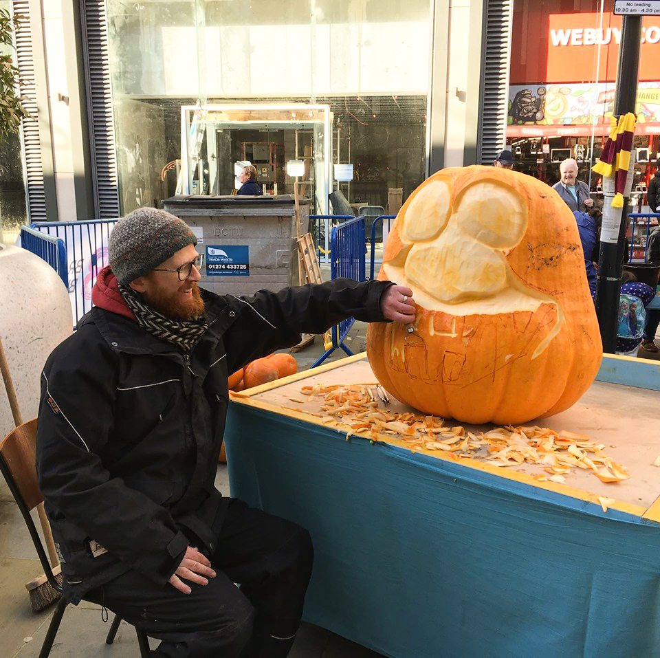 pumpkin carving uk bradford bid
