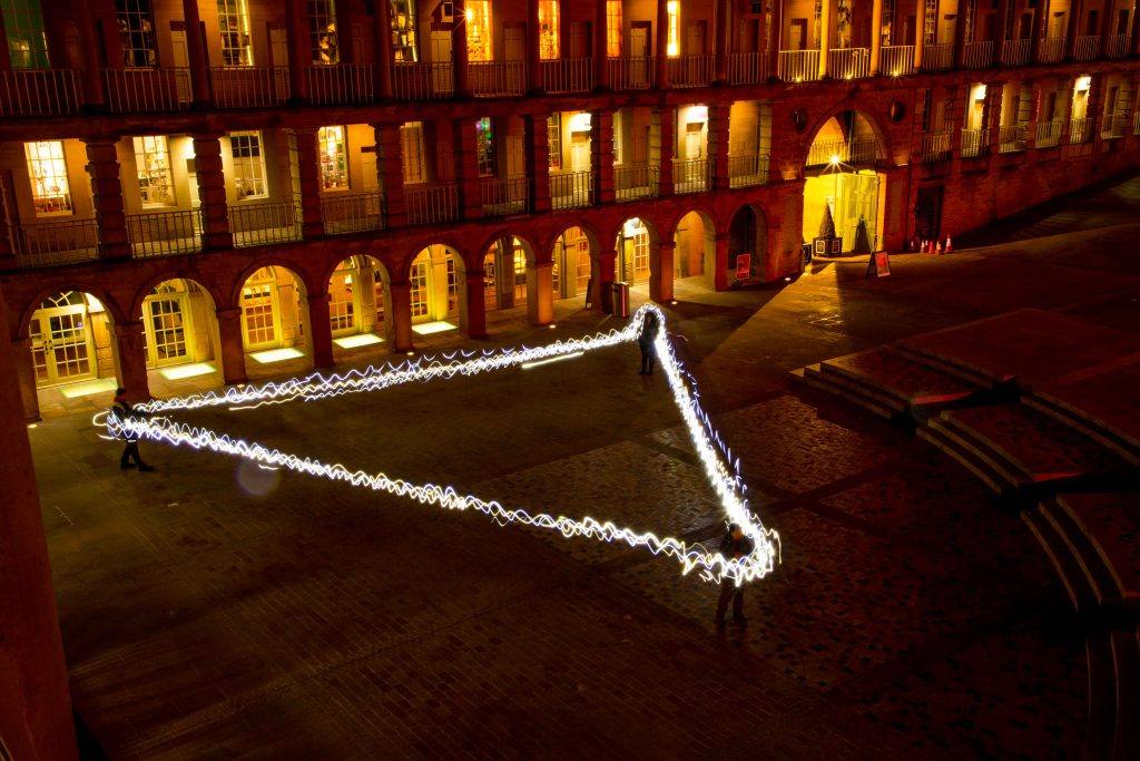 light art workshops piece hall
