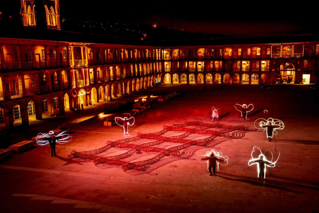 light art workshops piece hall yorkshire