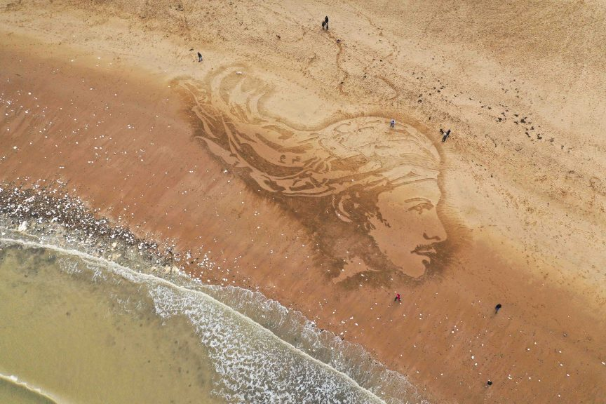 beach art london