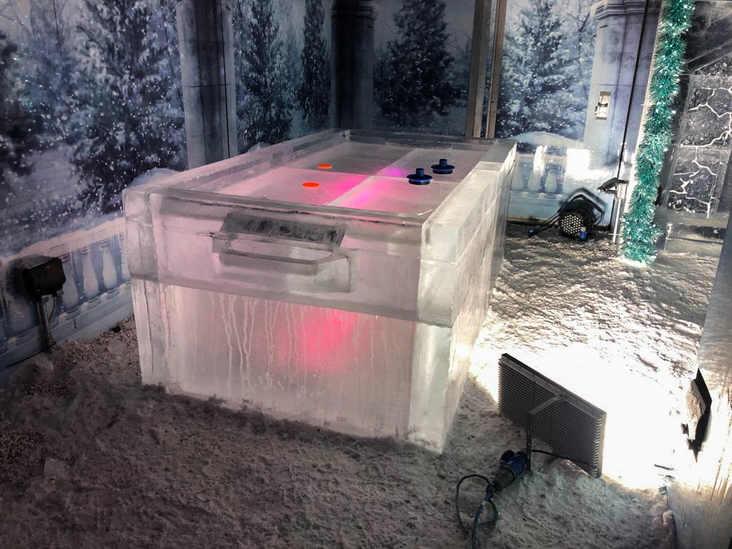 carved ice bar uk