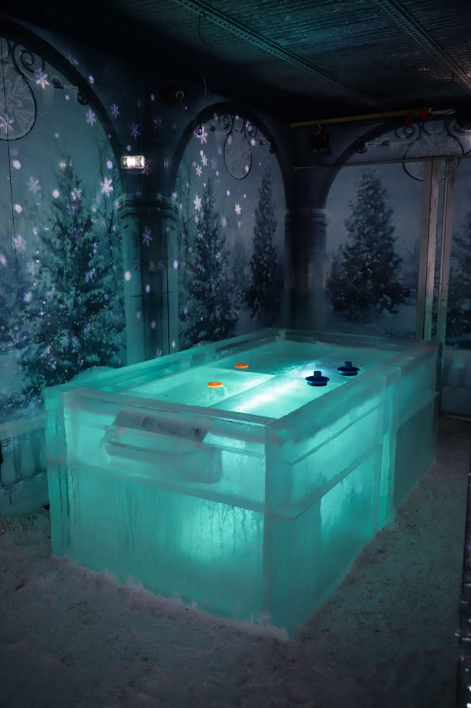 ice bar winter wonderland