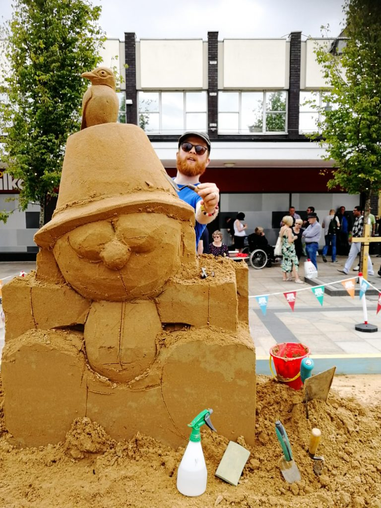 live sand carving uk