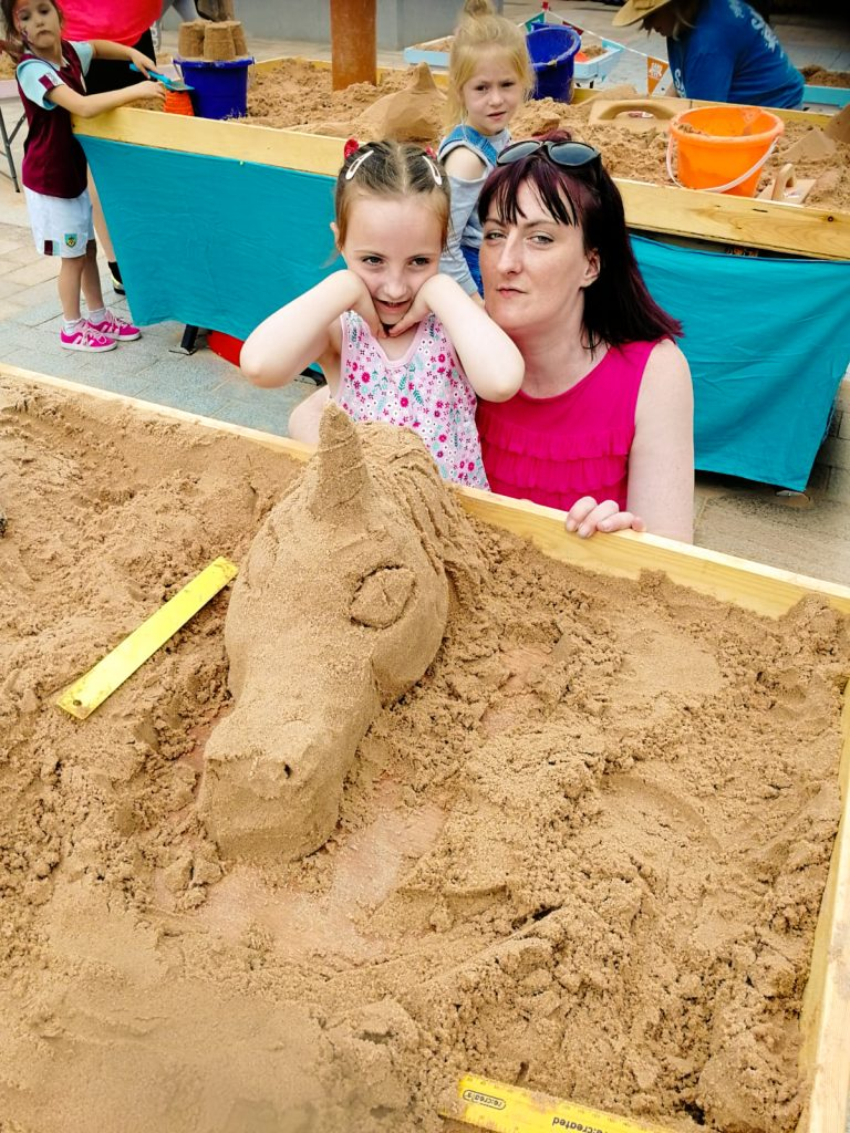 sand art workshops yorkshire