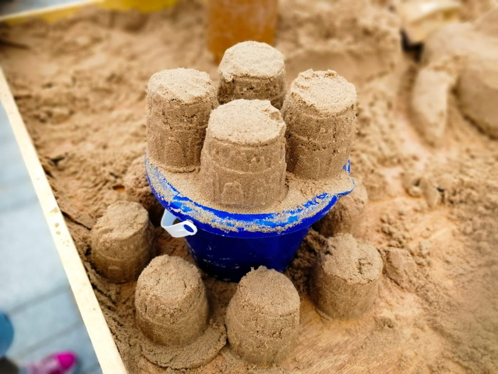 sand castle building workshop