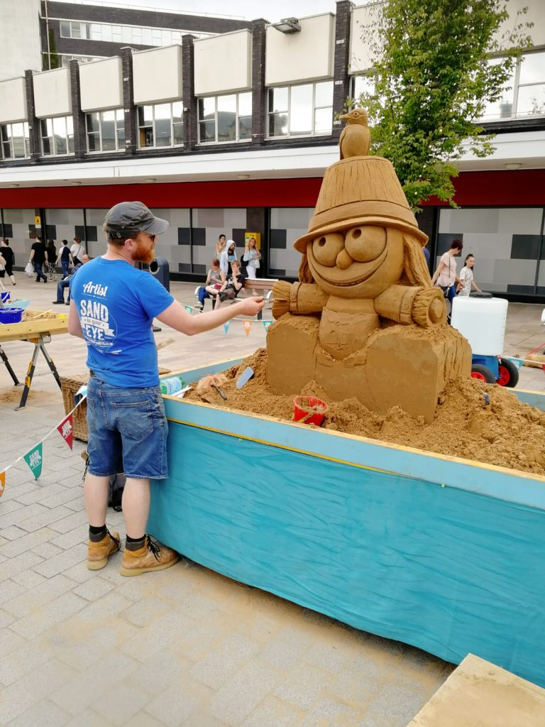 sand sculpture events yorkshire