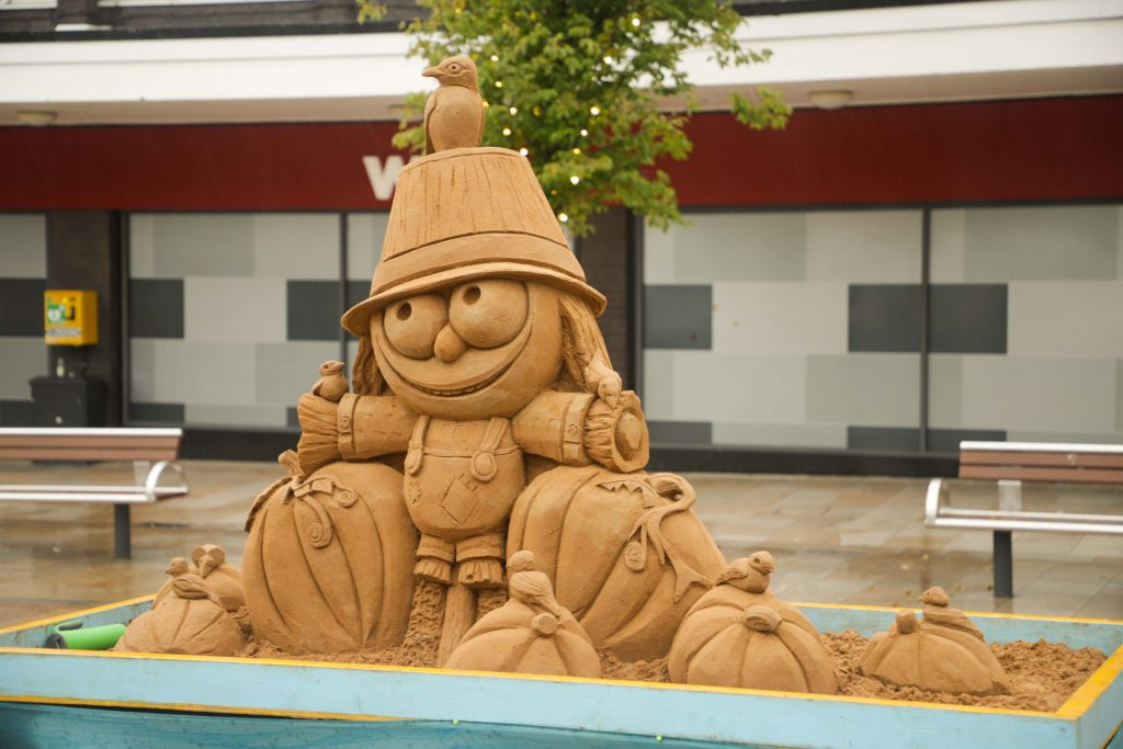 sand sculpture scotland