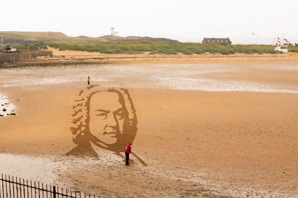 Sand Drawing Scotland