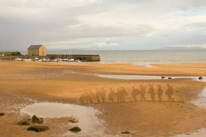 anamorphic sand drawing somme