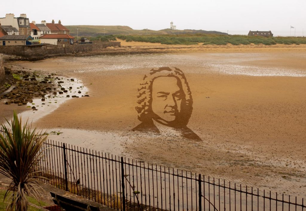 sand drawing yorkshire