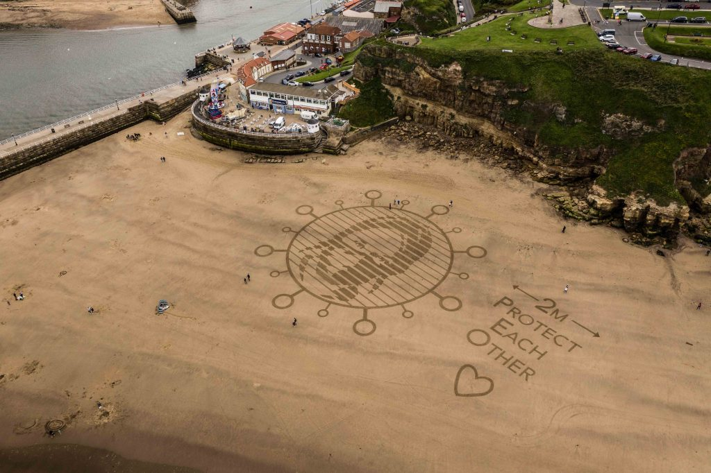 sand drawing uk