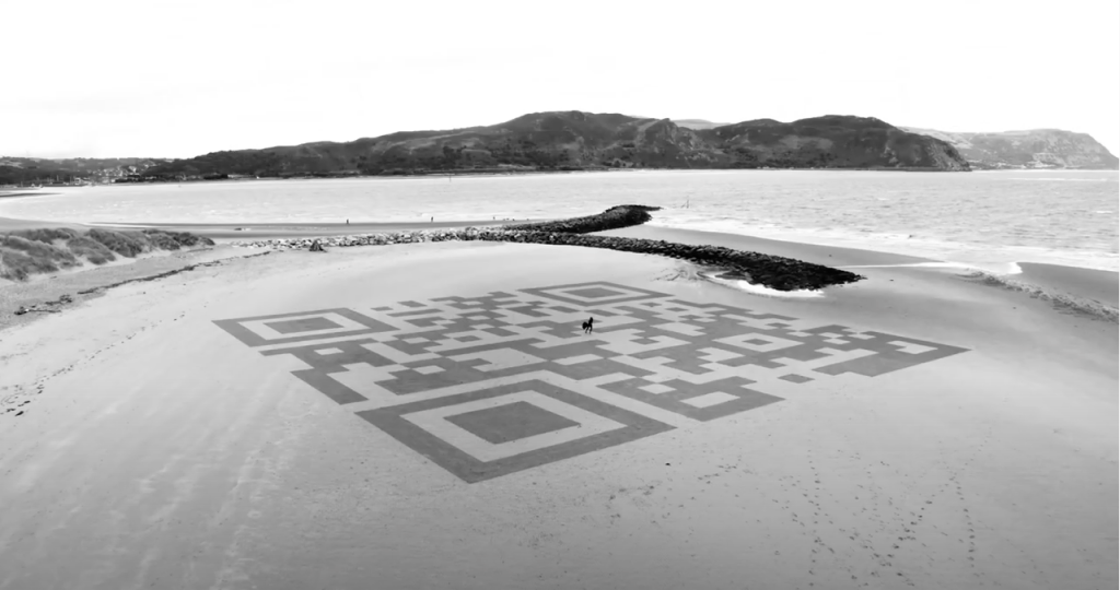 sand drawing wales
