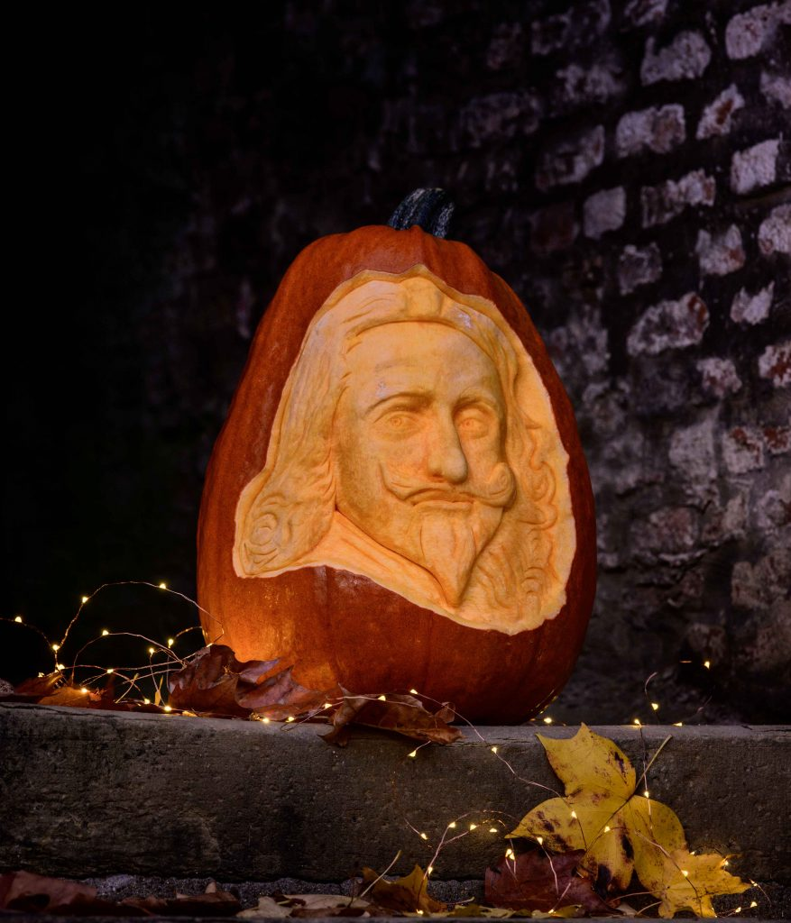 pumpkin carving historical figure