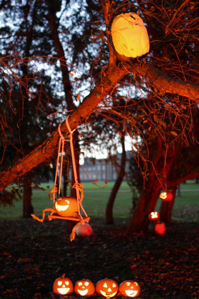 halloween pumpkin trail blenheim palace