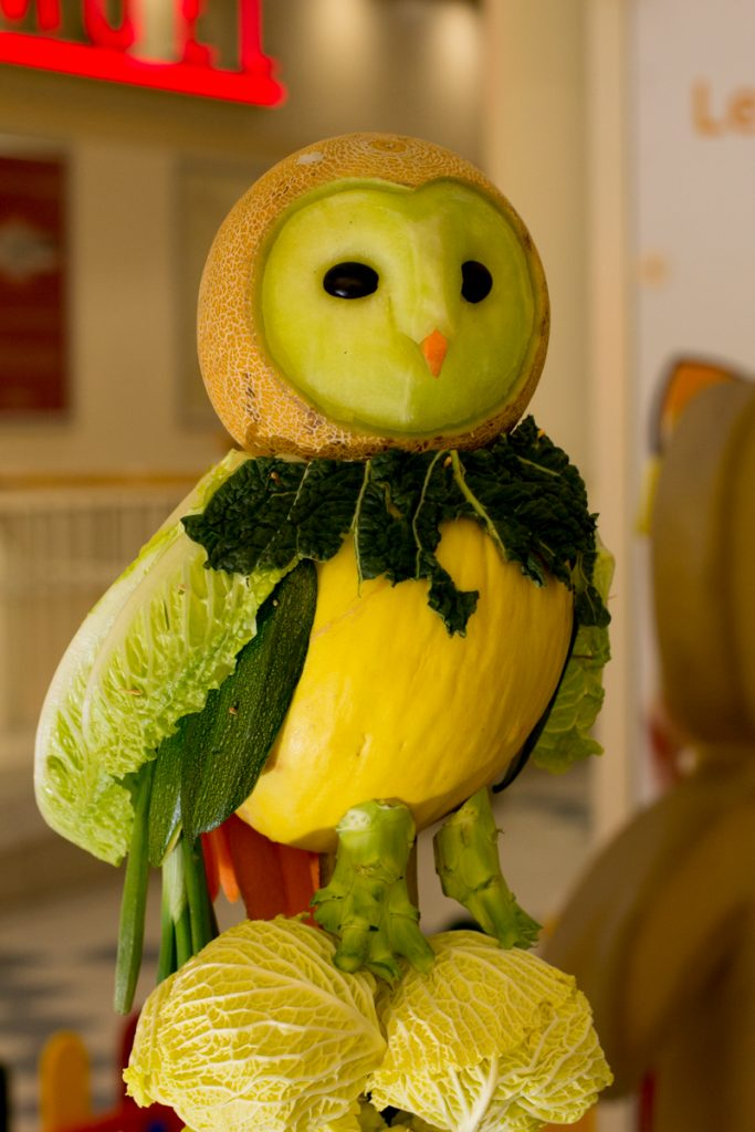 owl food carving events uk